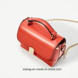 형식 금속은 어깨에 매는 가방 단 하나 색깔 Satchel 부대를 버클을 채운다