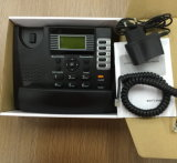 Telefone análogo da G/M com telefone da tabela da identificação G/M do altofalante e de chamador