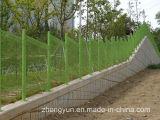 직류 전기를 통한 PVC에 의하여 입히는 용접된 철망사 담 그물세공