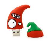 Scheda istantanea di vendita del fumetto dell'azionamento dell'istantaneo del USB della penna dell'azionamento della frutta del peperoncino rosso del USB del bastone del mini disco sveglio rosso caldo di Pendrive 4GB 8GB 16GB 32GB 64GB U