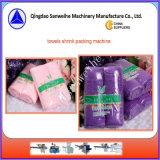 Машина упаковки Shrink полотенец автоматическая (SWC-590+SWD-2000)