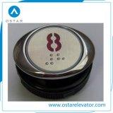 Части лифта с круглыми, квадратными, овальными форменный кнопка (OS43)