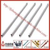 Barras de acero endurecidas y cromo plateadas de la inducción