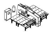 Maquinaria mecânica múltipla do perfurador da torreta do CNC das estações de funcionamento