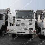 Corpo forte Sinotruck 6X4 Caminhão de descarga Diesel cúbico da mineração de Wero 20 amarelos