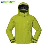 Зеленый цвет травы куртки женщин напольный