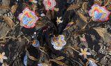 Großhandelsstickerei-Blumen-Spitze-Gewebe für Kleid