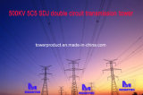 Doppia torretta della trasmissione del circuito di Megatro 500kv 5c5 Sdj