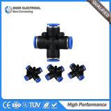 Hydraulique et pneumatique Composants du cylindre Connecteur pneumatique