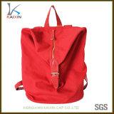 Backpack холстины школы изготовленный на заказ женщин красный