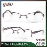 Nuovo monocolo Eyewear O2313 del telaio dell'ottica di vetro del metallo di stile di modo