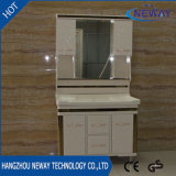 Unidades comerciales de la vanidad del cuarto de baño del PVC del suelo de la alta calidad