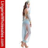 Halloween-Partei-Kleid-arabische NachtChiffon- Bauchtanz-Kostüm
