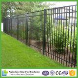 Qualitäts-schwarzer bearbeitetes Eisen-Zaun des Verkaufs
