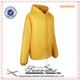 男女兼用のDoubleside多色刷りのSoftshellの羊毛ファブリックジャケット