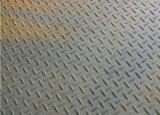 Plat en acier Checkered galvanisé plongé chaud de qualité
