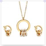 De Reeks van de Juwelen van het Roestvrij staal van de Juwelen van de Manier van de Juwelen van het kristal (JS0248)