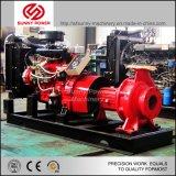 114HP 디젤 엔진에 의해 110L/S 72psi 모는 8inch 수도 펌프