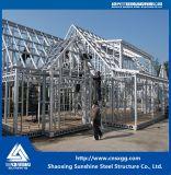 Casa de campo de aço clara residencial pré-fabricada com tamanho personalizado