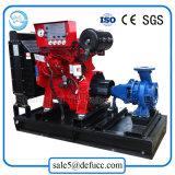 Pompe extinctrice d'aspiration simple avec le jeu de moteur diesel