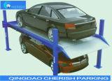 3700kgs重量の油圧4つのポストの駐車上昇