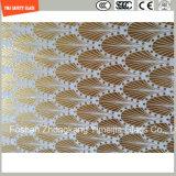 a cópia do Silkscreen de 3-19mm/gravura em àgua forte ácida/gearam/plano do teste padrão/dobraram Tempered/vidro temperado para a porta/indicador/chuveiro /Screen com certificado de SGCC/Ce&CCC&ISO