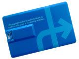Super dünnes Gutschrift USB-Laufwerk 1GB 64GB für Whosale
