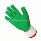Латекс покрыл перчатки предохранения от перчаток Crinkle латекса перчаток трудные