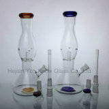 10 pulgadas de hélice de vidrio Tubo de fumar Tubo de agua con borusilicato Pyrex