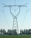 Customedの耐久の角度鋼鉄伝達タワー