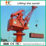 30トンの専門の造船所の門脈の容器クレーン