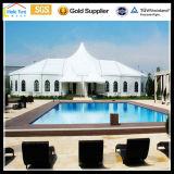 De openlucht Tent van het Glas van de Gebeurtenis van het Zwembad van de Markttent van het Huwelijk van pvc van de Luxe van het Aluminium van Nigeria Afrika Beweegbare Permanente Openlucht Grote