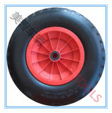 2가지의 유형 다이아몬드 패턴 4.00-8 PU 거품 손수레 바퀴