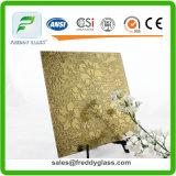 3-8mmの金の青銅によって曇らされたミラーか霜のミラーまたは酸はミラーまたは芸術ミラーか装飾的なミラーまたは壁ミラーをエッチングした