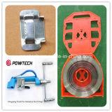 Prendendo com correias ferramentas para a fita de aço inoxidável, curvatura para os encaixes do cabo Clamps/ADSS