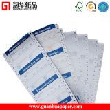 Papel de computadora sin carbono continuo del papel de imprenta de 2/3 capa