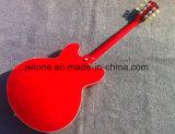 두 배 F 구멍 구렁 바디 재즈 ES 335 일렉트릭 기타를 묶는 백색 모든 색깔 Availble