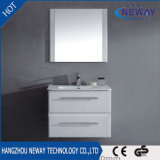 Governo di stanza da bagno di plastica della parete moderna con lo specchio