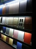 Hohe Glanz-Türen des Küche-Schrank-Door/PVC