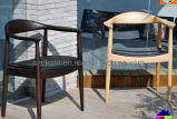 Chaise dinante en bois de bras (DS-C143H)