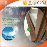 Madera de aluminio Color7 del acabamiento del grano de madera de roble rojo de la ventana 3D de la inclinación y de la vuelta de la rotura termal