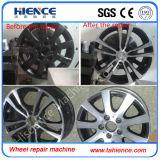 販売のための堅いガイドの方法Awr2840PC車輪修理機械旋盤