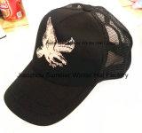 Broderie de chapeau de panneau de la couleur 5 et chapeau faits sur commande de sport d'impression