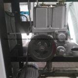 Una stazione di pompa di riempimento dell'erogatore del combustibile di una pompa e di due visualizzazioni