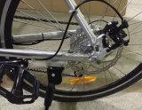 Bicicleta de montanha elétrica do esporte da escala longa da bicicleta do frame da liga de alumínio com bateria escondida