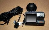 Veículo duplo da visão noturna HD da lente da câmera de controle remoto do carro DVR