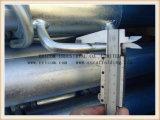 Support/construction et constructions en acier réglables galvanisés à usage moyen d'échafaudage