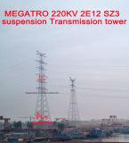 Torretta della trasmissione della sospensione di Megatro 220kv 2e12 Sz3