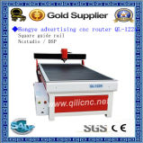 Placa de cores Mapeamento de letras Produção Ql-1224 Publicidade CNC Router