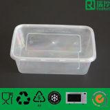 One Time retangular PP Recipiente de alimento plástico (1000 ml)